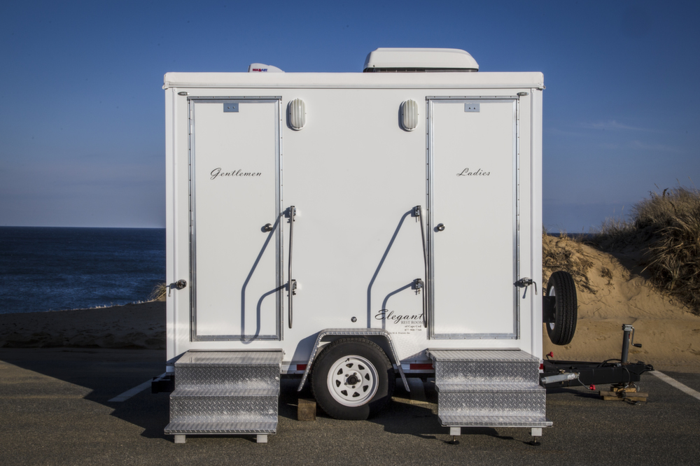 Do I Need A Luxury Portable Bathroom Trailer For My: Cape Cod Portable Toilets And