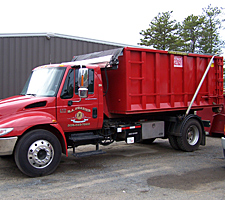 cape cod roll off dumpster