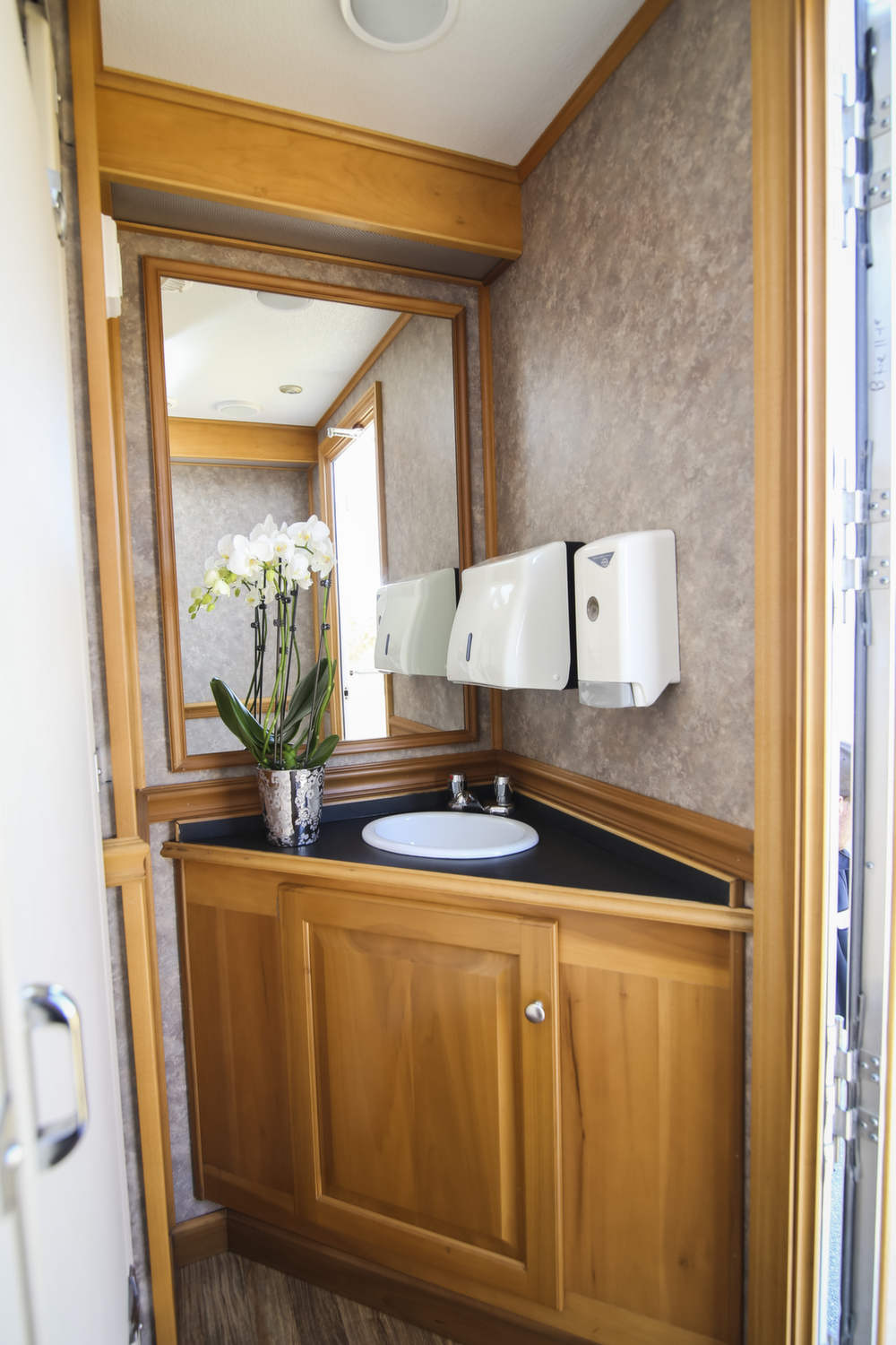 Presidential Portable Restroom Trailer